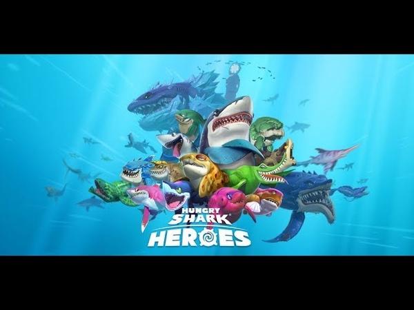 Hungry Shark: Heroes - Геймплей | Трейлер