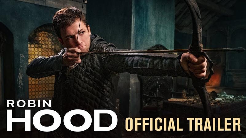 Robin Hood 2018 Movie Official Trailer Taron Egerton Jamie Foxx Jamie Dornan
