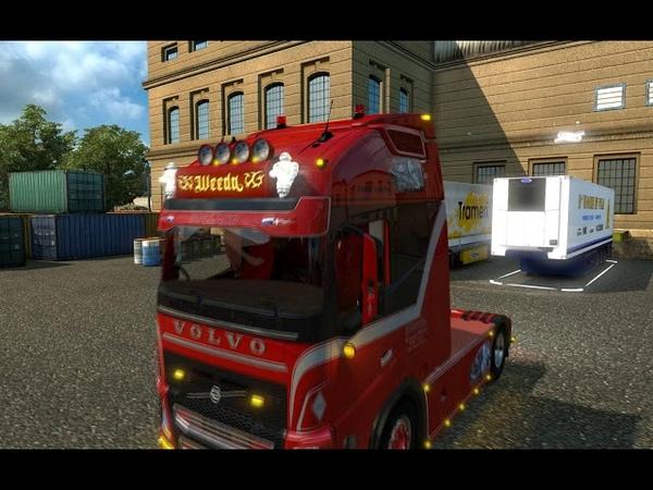 [ETS2]Euro Truck Simulator 2 Volvo FH Weeda Nederland Style