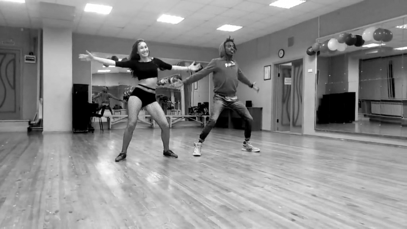 BA (Berani RigondeauxAlexandra Yatsenko). Reggaeton dance.