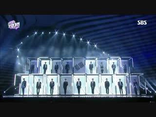181225 NCT 2018 - Intro, BOSS, We Go Up, Regular & Black on Black @ SBS Gayo Daejun