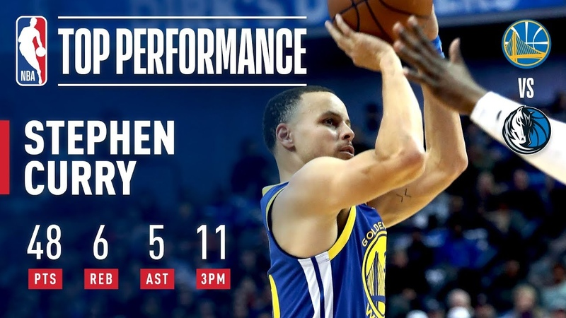 Stephen Curry Drops A BLAZING 48 Points Including 11 3PM | January 13, 2019 NBANews NBA Warriors StephenCurry
