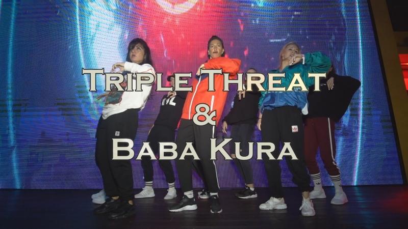 Triple Threat Baba Kura || SHOWCASE || WORLDWIDE DANCE CAMP 2018