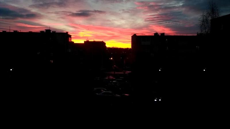 Прекрасный восход в Краснотурьинске