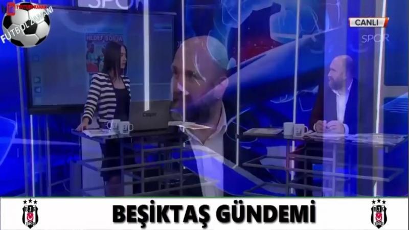 BEŞİKTAŞ Sabah Sporu - Mario Gomez, Borja, Larin 19 Eylül 2018