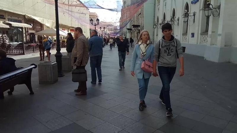 Город Москва. Улица. Никольская