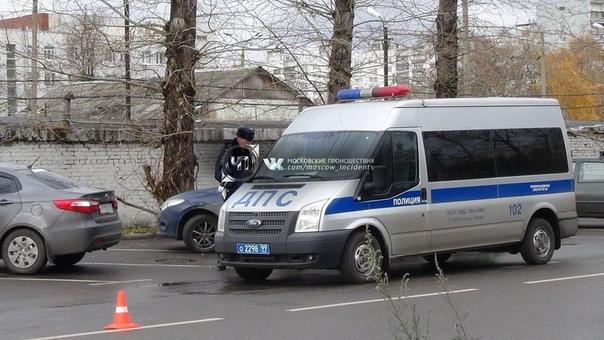 Два человека пострадали в результате ДТП на юго-востоке Москвы, сообщают очевидцы. По предварительны...
