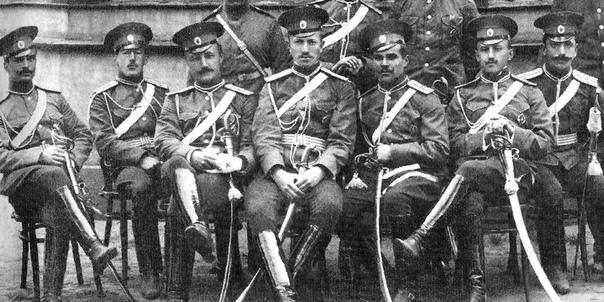 Сталин и белогвардейцы.