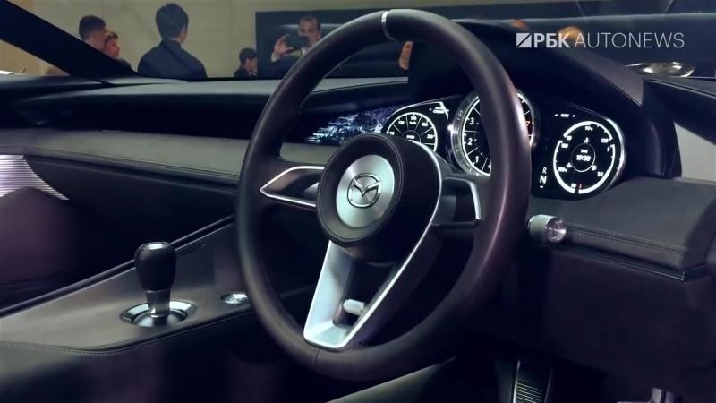 Новая Мазда 3 это фантастика Обзор Mazda 3 CX 8 и Vision Coupe