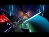 Beat Saber Kirito plays Cascada - Everytime We Touch ExpertFCS-Rank 2K60fps