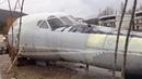 Кусок бомбардировщика на набережной в Архипо-Осиповке