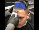 This nifty device grips to your hair and makes it easier to cut hair