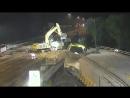 Голландцы за два выходных дня построили под шоссе тоннель
