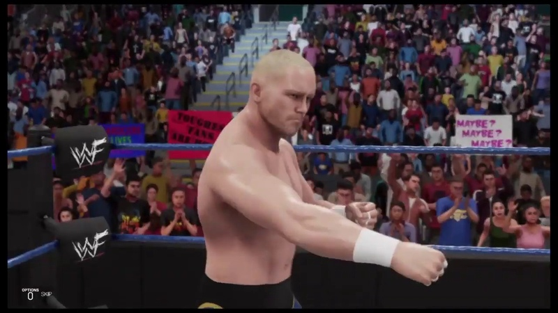 WWE 2K19 Crash Holly vs Hardcore Holly Smackdown '99 Falls Count Anywhere Match