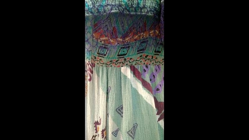 Платье из ткани Etro
