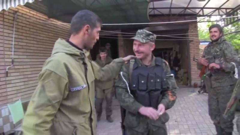 Батяня комбат.Героям Донбасса посвящается ! Легендарным комбатам - Мотороле и Ги