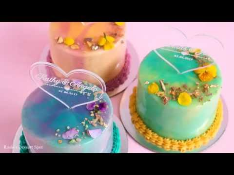 Mini Mirror Glaze Cake Tutorial- Rosies Dessert Spot