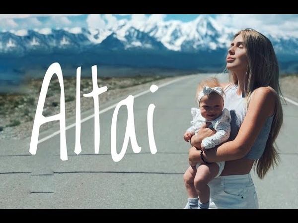 Алтай VLOG. С младенцем по перевалу Кату-Ярык. Машина не заехала...