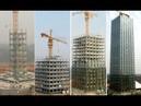 30 этажная гостиница построена за 15 дней Как строят в Китае