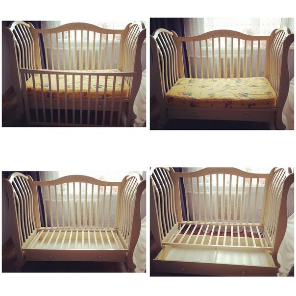 Детская кроватка/качалка