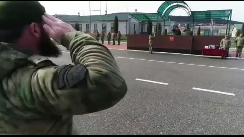 Полку имени Героя России Ахмата Хаджи Кадырова грозненского соединения Росгвардии исполнилось 13 лет