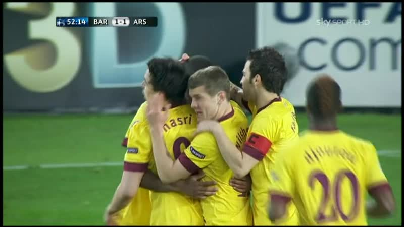 193 CL 2010 2011 FC Barcelona Arsenal FC 3 1 08 03 2011 HL