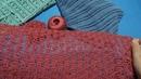 Вязание крючком. Джемпер японским ажуром. МК по узору