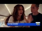 Новое видео со съёмок фильма A Star Is Born.