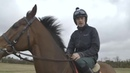 Watch Ruby Walsh jump a moving car on a horse!
