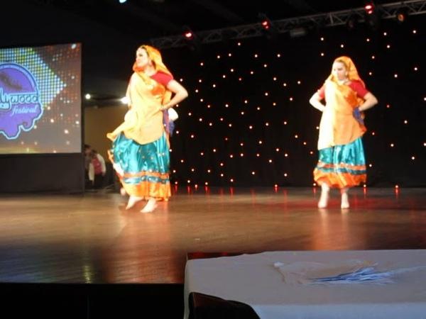Школа индийского танца Амрапали. Танец Pairon Mein Bandhan Hai. Руководитель Лонская Дарья
