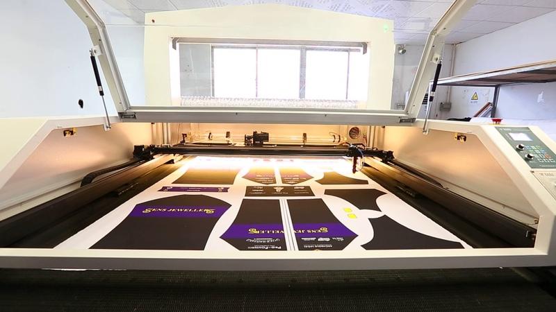 CCN Laser Cut Machine