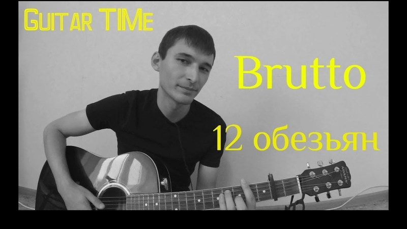 BRUTTO 12 обезьян cover by Guitar TIMe