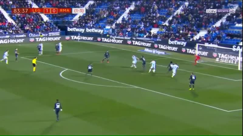 Испания Кубок Короля Леганес - Реал Мадрид 1:0 обзор 16.01.2019 HD