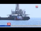 Уникальный в своем роде. Наши корреспонденты расскажут, как погружали под воду АН-24