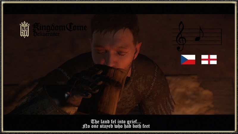 Kingdom Come Deliverance - The Czech Tavern Song Poverty and Famine with English lyrics (HD)