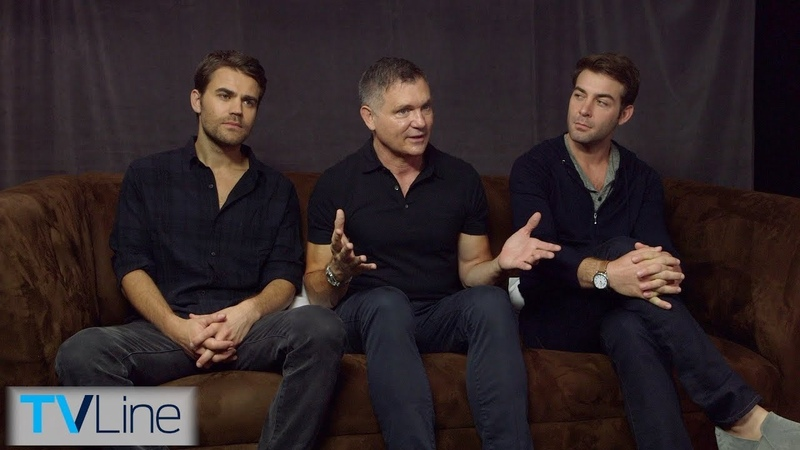 Tell Me A Story Cast Interview | Comic-Con 2018 | TVLine