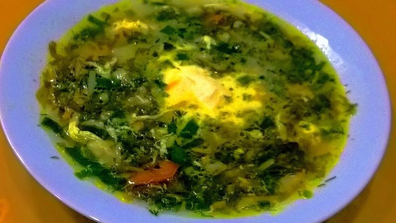 Зеленые щи с щавелем Щавелевый суп с яйцом Зеленый борщ рецепт Вкусный полезный и лёгкий!