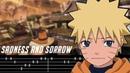 Naruto OST - Sadness and Sorrow Guitar Tutorial [AMV]