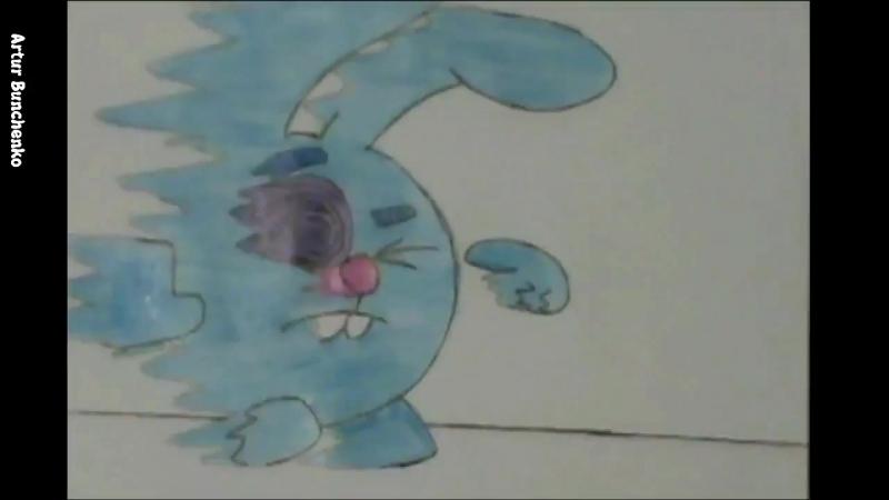 Крош попал в мир аниме. Крош из смешариков превратился в наруто, 3 секундное аниме.mp4