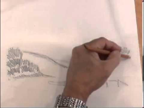 Основы рисования акварельными карандашами
