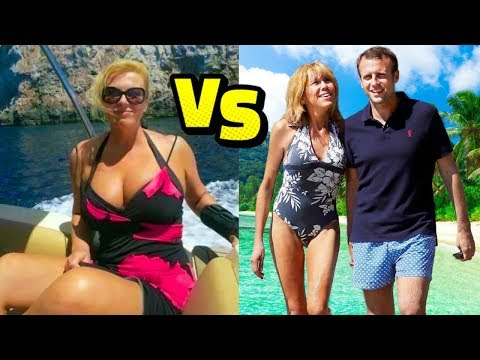 Kolinda Grabar Kitarovic (Croatia) vs Emmanuel Macron (France) || Who loves football more