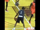 Travis Scott and Meek Mill showing off their basketball skills during James Harden's charity game!