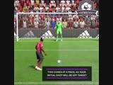 Паул Погба забивает пенальти в #ФИФА19 точно так же, как и в реальной жизни. Ооооочень медленно.🤷🏻♂