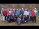 Чистый берег- Экологическая акция учащихся Кантауровской школы . Фото: И.А.Агафоновой
