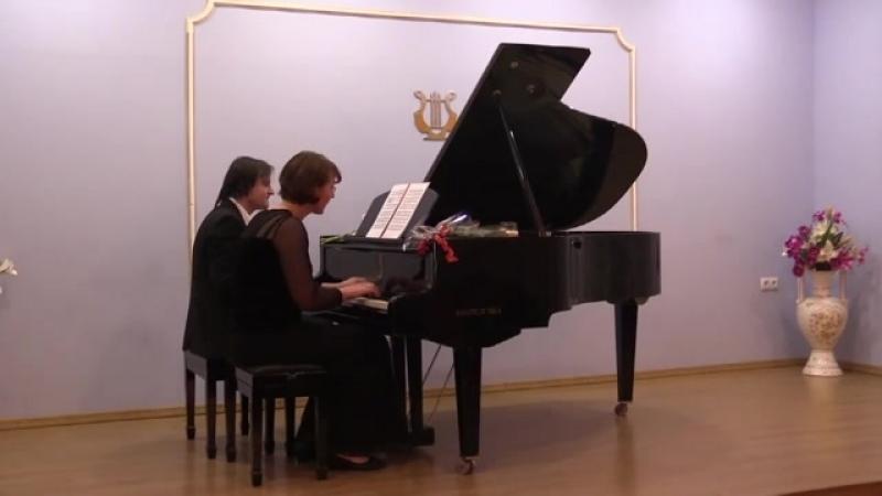 В.Гаврилин Галоп из балета Анюта. Исп.А.Трушкова, А.Бугаян