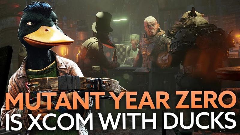 Play as a duck in Mutant Year Zero's XCOM-style battles   E3 2018