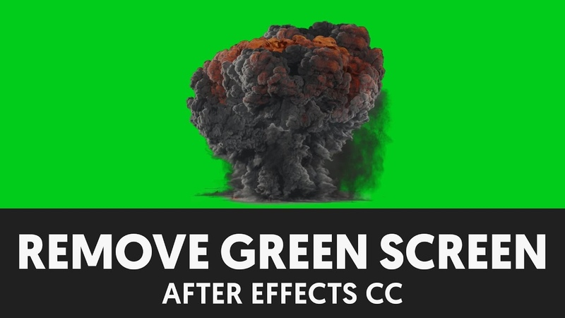 After Effects Green Screen Removal Tutorial - T024