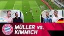 Thomas Müller vs Joshua Kimmich FIFA 18 Exhibition Match