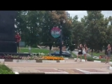 Белгородец поссал на памятник Ленину на Народном бульваре