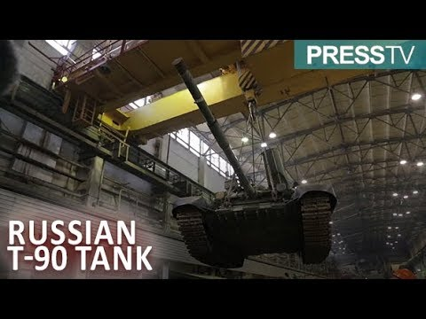 Russia's new T-90 tank passes leakage test with flying colors